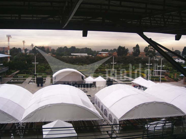 Pabellones 10mt x 6mt hangar modular